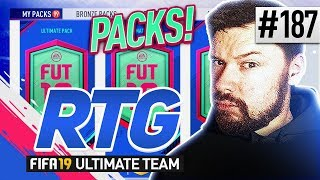OPENING ALL SAVED PACKS! - #FIFA19 Road to Glory! #186 Ultimate Team thumbnail