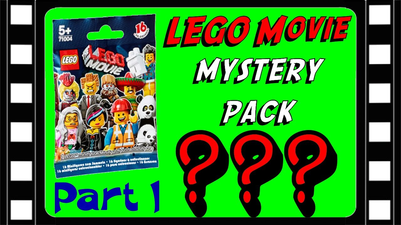 Lego Movie Mystery Minifigure Pack Opening 71004 Part 1 Brickqueen Youtube