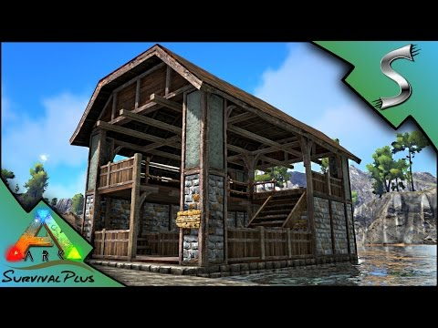 MAKING A MARKET TO SELL BLACKSMITH ITEMS! TRADING BEGINS! - Ark: Survival Plus [Gameplay E11]