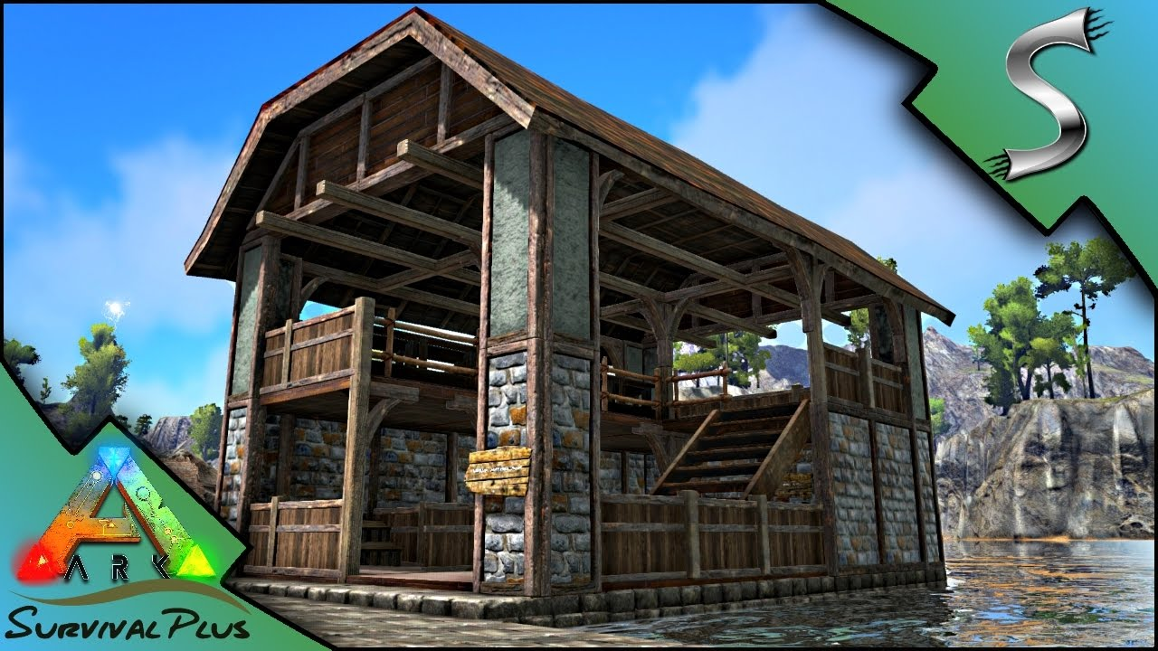 MAKING A MARKET TO SELL BLACKSMITH ITEMS! TRADING BEGINS! - Ark: Survival Plus [Gameplay E11 ...