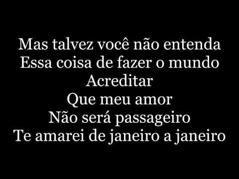 Roberta Campos E Nando Reis - De Janeiro A Janeiro letra