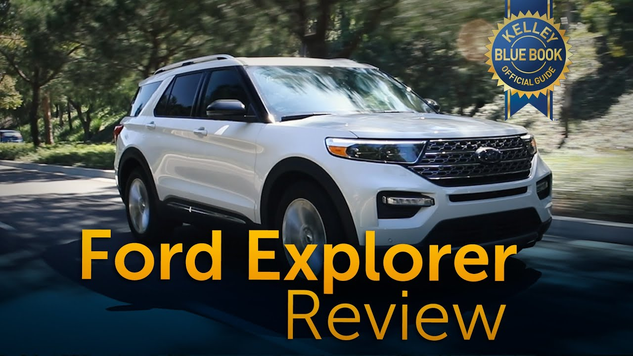 2020 Ford Explorer Review Road Test Youtube