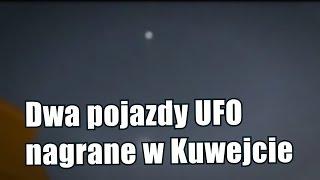 Tysiące ludzi oglądało dwa UFO nadKuwejtem