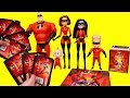 The Incredibles 2 Sticker Book ! Toys and Dolls Fun Pretend Play for Kids | SWTAD