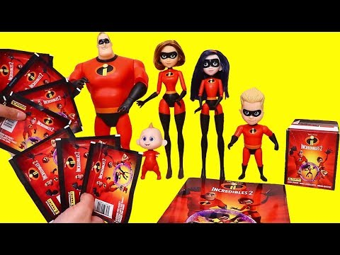 The Incredibles 2 Sticker Book  Toys and Dolls Fun Pretend Play for Kids  SWTAD