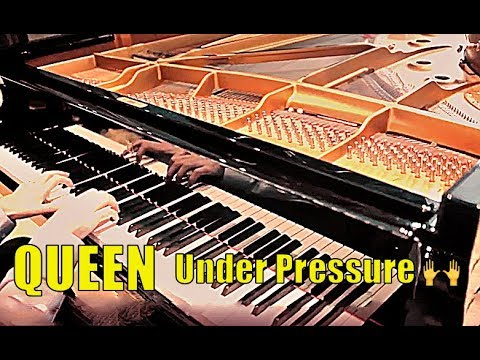 QUEEN - UNDER PRESSURE - The Secret Piano ARRANGEMENT