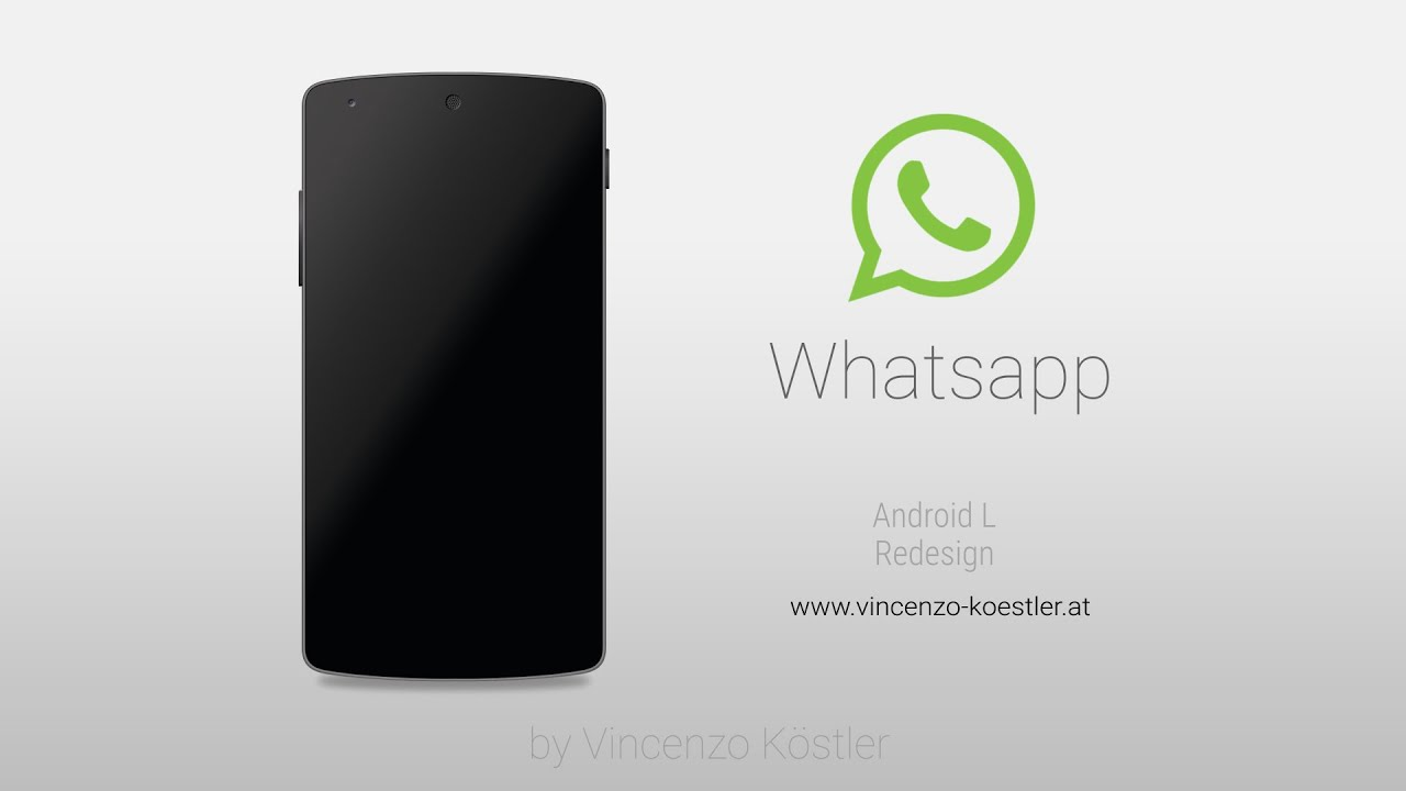 whatsapp material design