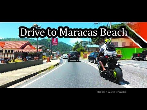 Trinidad - Drive to Maracas Beach - Sept 2017