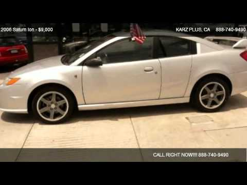 2006 Saturn Ion Red Line Quad Coupe For Sale In National City Ca