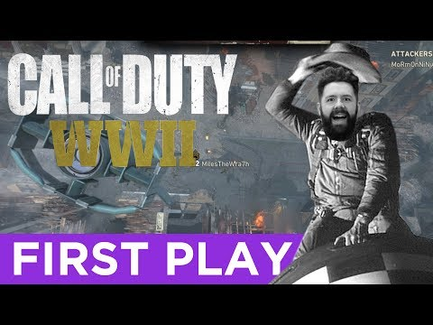 Miles Behind Enemy Lines - Call of Duty WWII | firstPLAY | screenPLAY