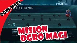 Dota 2 Guia del Camino de Mision de Ogre Magi 2017 Battle Pass