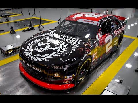 Hammer - More Metal In NASCAR: Killswitch Engage Paint Scheme On Tyler Reddick's Car