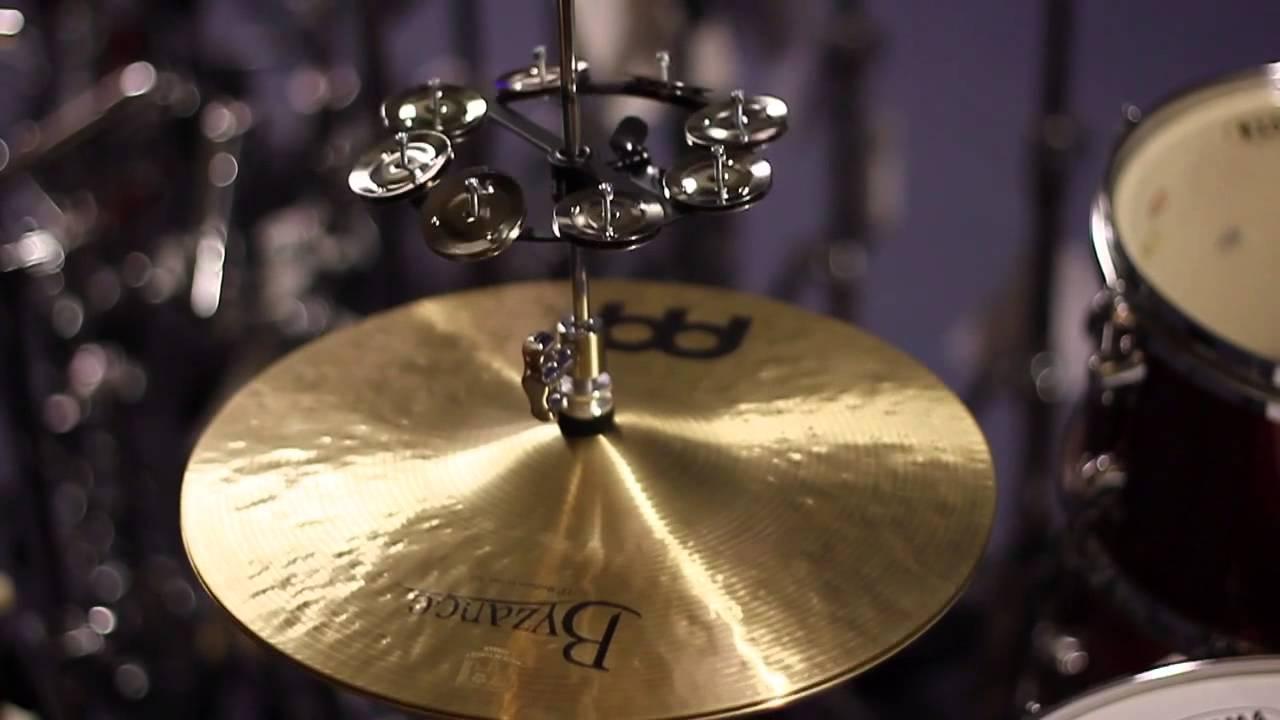 DRUM KIT HI HAT TAMBOURINE percussion tamborine cymbal