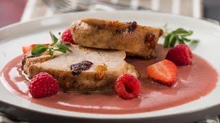 Pechuga de Pavo en Salsa de Frutos Rojos