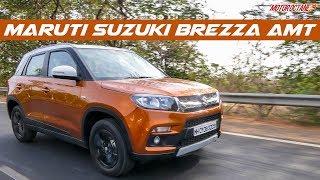 2018 Maruti Vitara Brezza AMT Review in Hindi | MotorOctane