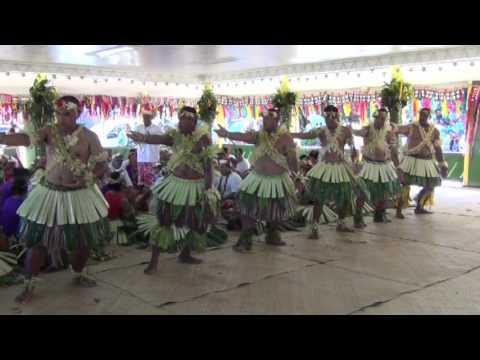 Fiji President tour to Tuvalu (2014)