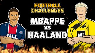 🔥MBAPPE vs HAALAND🔥 Football Challenges! (Frontmen 2.10)