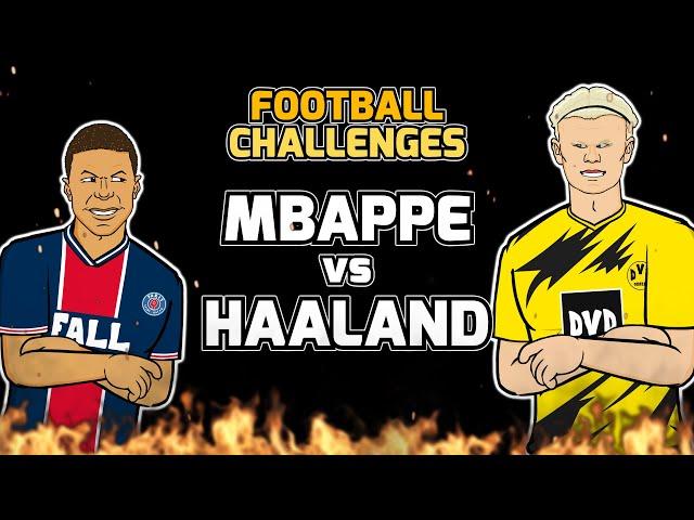🔥MBAPPE vs HAALAND🔥 Football Challenges! (Frontmen 2.10)