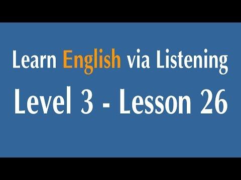 Learn English via Listening Level 3 - Lesson 26 - Australia : People
