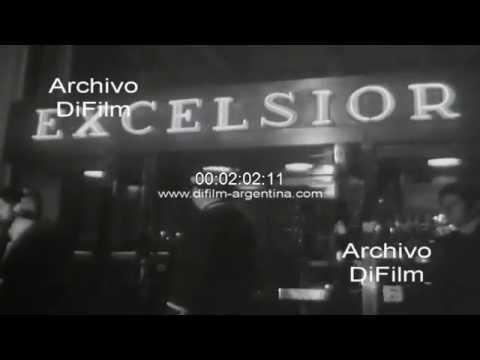DiFilm - Sergio Villaroel cubriendo la visita de Juan Peron en Roma 1973