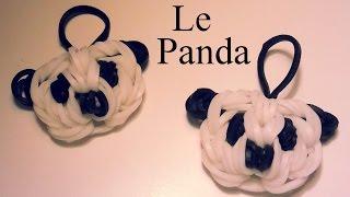 Comment faire un Panda avec des élastiques sans machine