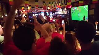 Belgium vs Japan - BXL Cafe in New York