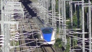 快晴の日の北陸新幹線