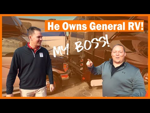 He OWNS General RV Center! This is MY BOSS!