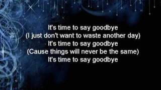 Watch Simple Plan Time To Say Goodbye video