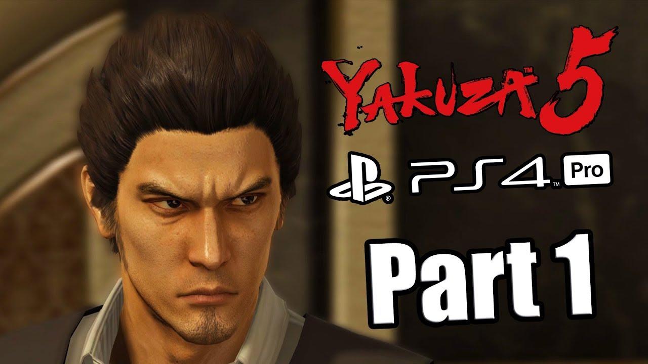 Yakuza 5 Remaster - English Walkthrough Part 1 PS4 PRO