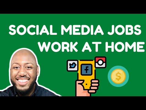 Top Legit Social Media Jobs From Home [ Up To $40 Per Hr ]