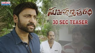 subrahmanyapuram-30sec-teaser-sumanth-eesha-rebba-santhossh-jagarlapudi