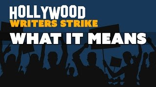 What Does the Hollywood WRITERS STRIKE Mean For You? - The Know Entertainment News