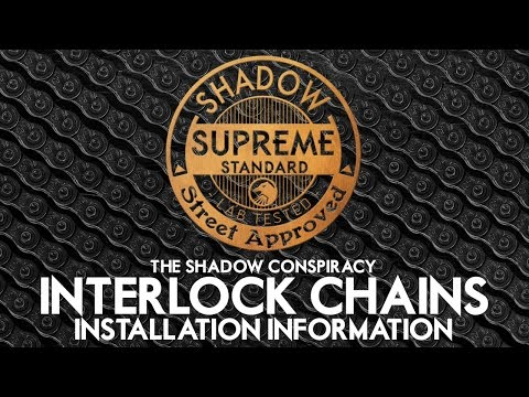 Installation Information - Shadow Interlock BMX Chain