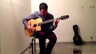 Watercolors (Pat Metheny) - Guitar arrangement - Felipe Silva Mena
