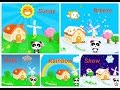 Learn Weather with Little Panda - The Weather Babybus Kids Games