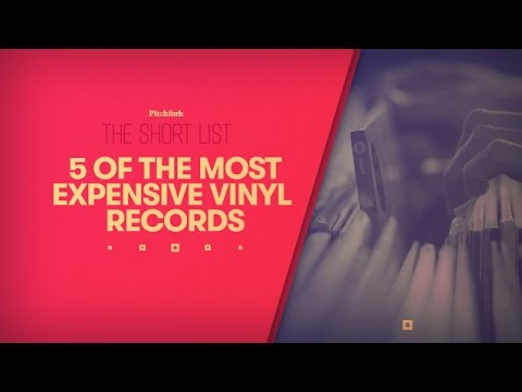 The Short List: Five of the Most Expensive Vinyl Records