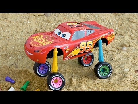 Wheels Color Lightning Mcqueen Cars 3 Assembly with Learn Colors for Children