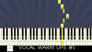 Распевка для начинающих вокалистов--- слушай и пой!