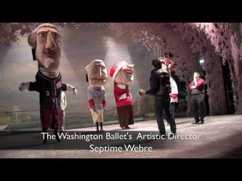 The GEICO Racing Presidents Visit The Washington Ballet and Septime Webre's - The Nutcracker