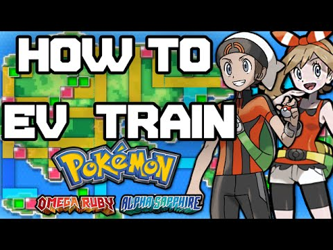 Pokemon Omega Ruby and Alpha Sapphire - How to EV Train