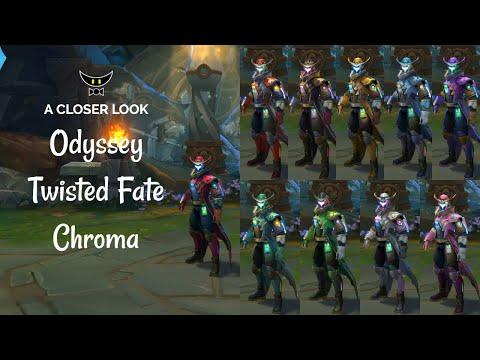 Odyssey Twisted Fate Chromas