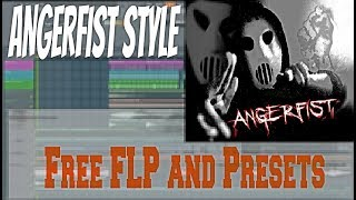 FL Studio ANGERFIST STYLE - DIE HARD + FLP and PRESETS