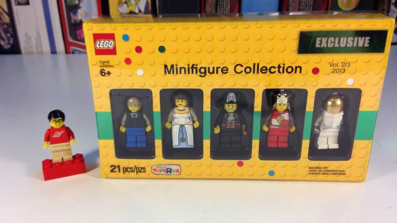 Toys Bricktober Us Lego 5002147 Minifigure Collection R Exclusive DHIY29eWE