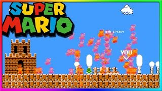 THEY MADE A BATTLE ROYALE FOR MARIO | Super Mario Royale
