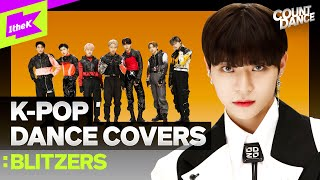 [4K] 신곡 최초공개 실력파 신인남돌 K-POP커버댄스 블리처스ㅣSuperM BTS NCT ATEEZ | Cover Dance MedleyㅣCOUNT DANCE | 카운트댄스