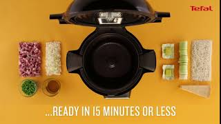 Over 100 recipes with a cooking time of 15 minutes or less