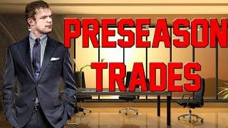 NBA 2K14 PS4 Charlotte Hornets My GM Ep. 20 - PRESEASON TRADES