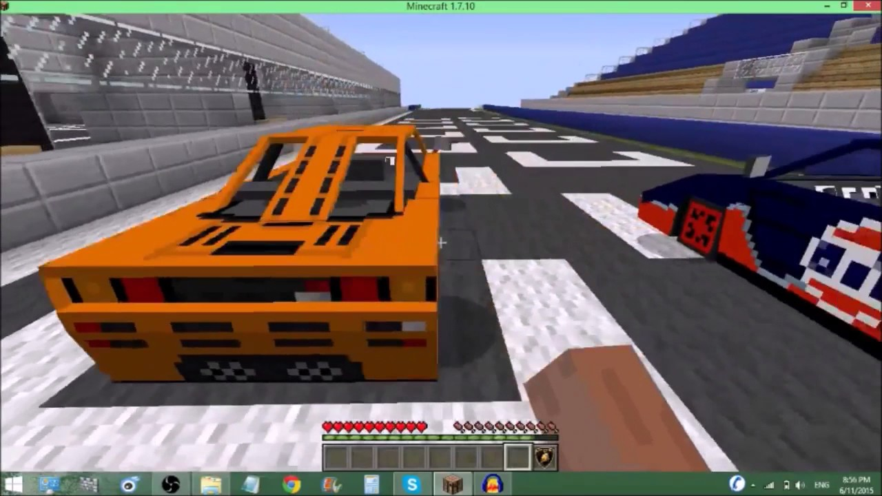 Мод на машины и самолёты в майнкрафт 1.6.4