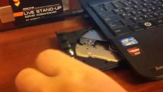 видео Как открыть дисковод на ноутбуке, acer, lenovo, asus, без кнопки